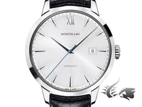 Montblanc Heritage Spirit Date Automatic Watch, MB 24.17, 39mm, Cayman, 111622