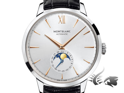Montblanc Heritage Spirit Moonphase Automatic Watch, MB 29.14, Cayman,111620