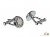 Montblanc Iconic Cufflinks, Stainless Steel, Polished, 114770
