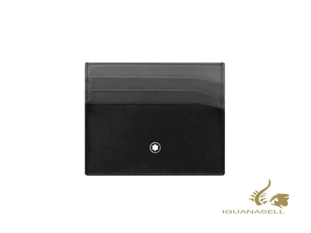 Montblanc Meisterstück Classic Animation Card holder, Black, 6 Cards, 126212