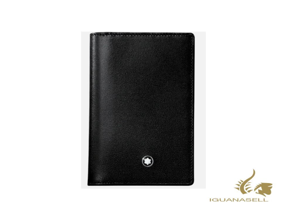 Montblanc Meisterstück Classic Animation Credit card holder, Black,126210