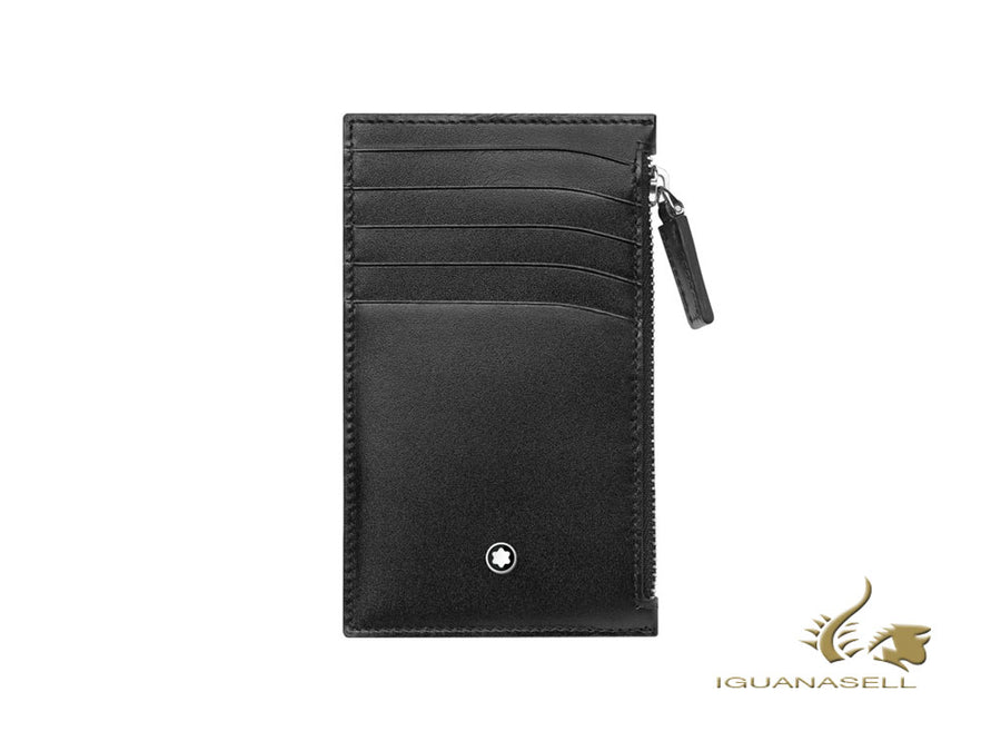 Montblanc Meisterstück Credit card holder, Black, 5 Cards, Coin Case, 118313 Montblanc Credit card holder