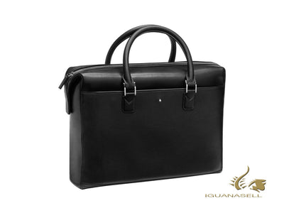 Montblanc Meisterstück Selection UNICEF Document case, Leather, Black, Zip