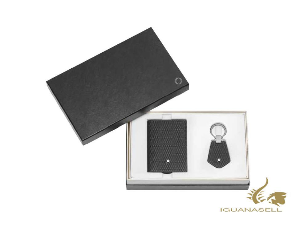 Montblanc Meisterstück Selection Gift Set Business Card Holder & Key Fob