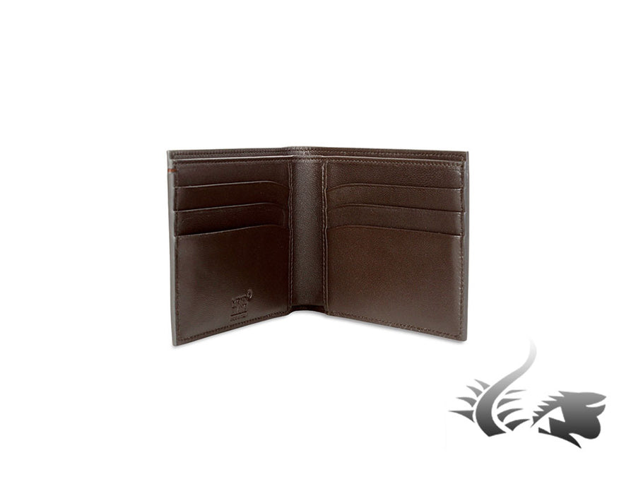 Montblanc Meisterstück Selection Sfumato Wallet, Brown, Leather, 6 Cards, 113164 Montblanc Wallet