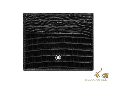 Montblanc Meisterstück Selection Credit Card Holder, Black, 6 Cards, 116296