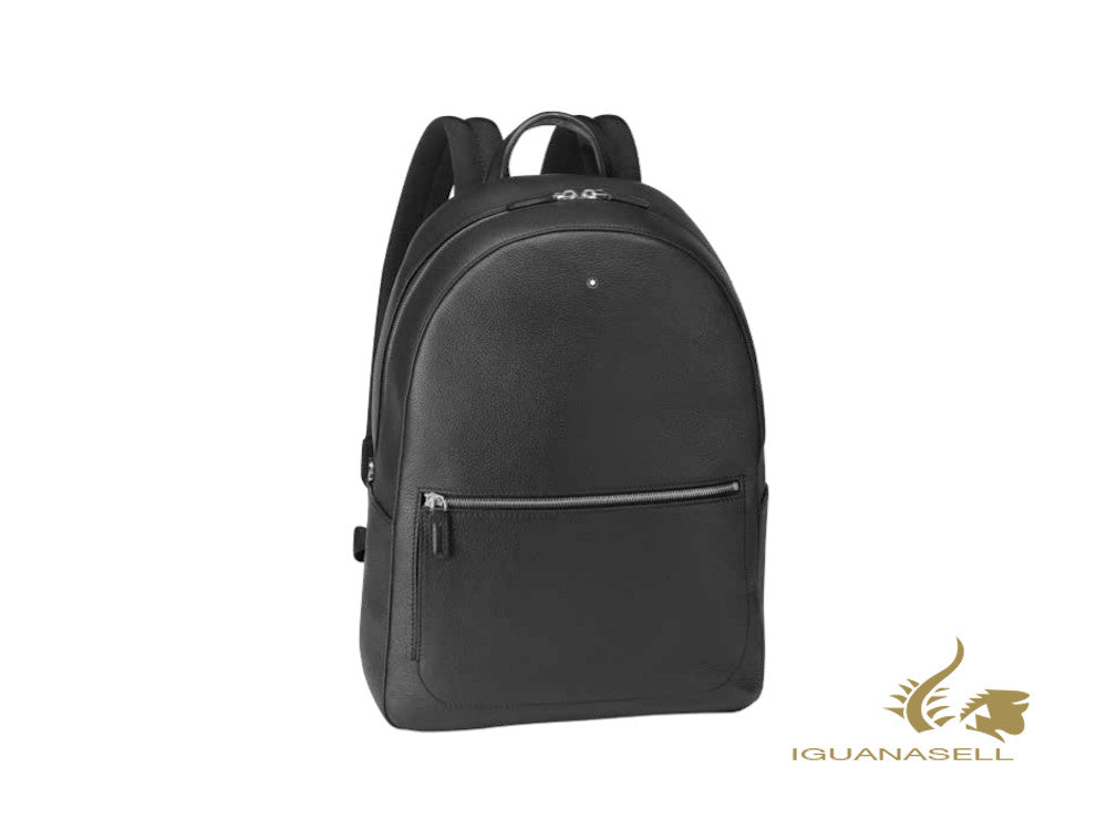 Montblanc Meisterstück Soft Grain MediumBackpack, Leather, Black, Zip, 126234