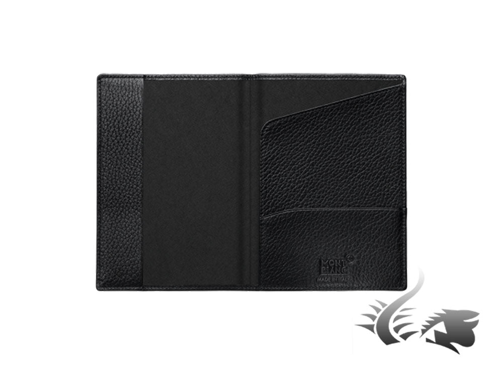 Montblanc Meisterstück Soft Grain Travel document case, Leather, Black, 113308