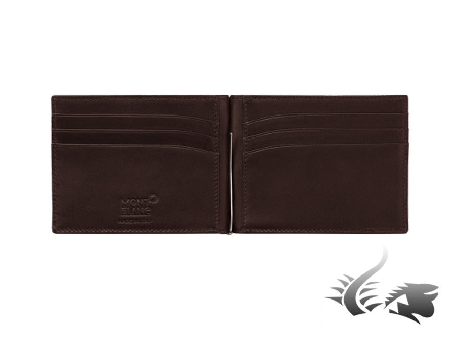 Montblanc Meisterstück Soft Grain Wallet, Brown, Leather, Cotton, 6 Cards Montblanc Wallet