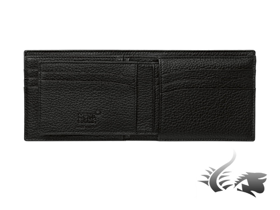 Montblanc Meisterstück Soft Grain Wallet, Leather, Cotton, 6 Cards, 114467