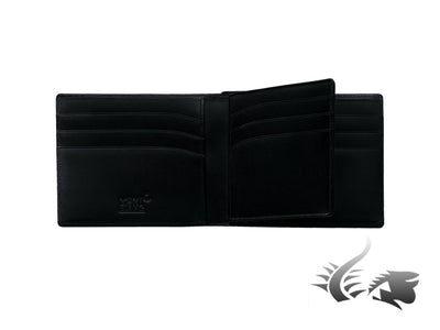 Montblanc Meisterstück Wallet, Black, Leather, Jacquard, 12 Cards, 103384