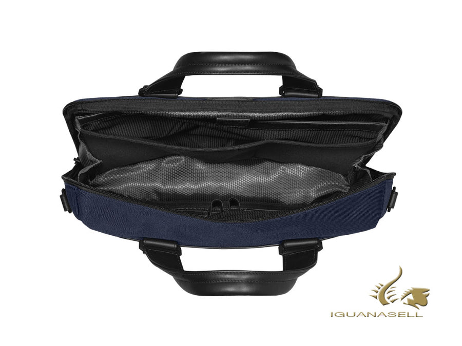 Montblanc Nightflight Document case, Nylon, Blue, Laptop compartment, 124144 Montblanc Document case