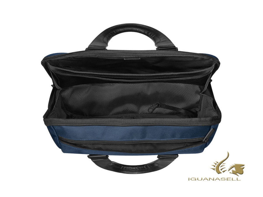 Montblanc Nightflight Document case, Nylon, Blue, Laptop compartment, 124145 Montblanc Document case