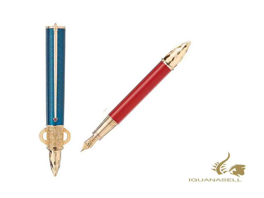 Montblanc Patron of Art Moctezuma I Fountain Pen, Limited Ed. , 125482 Montblanc Fountain Pen