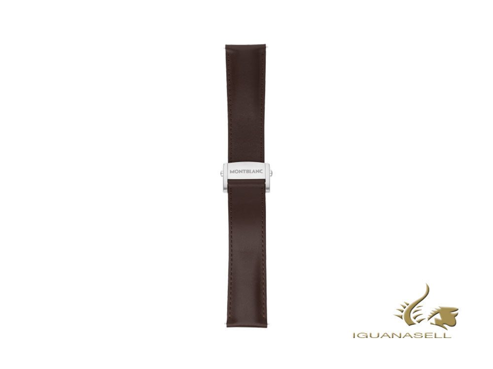 Montblanc Summit 2 Strap, Calf leather, Brown, 22mm, 119555