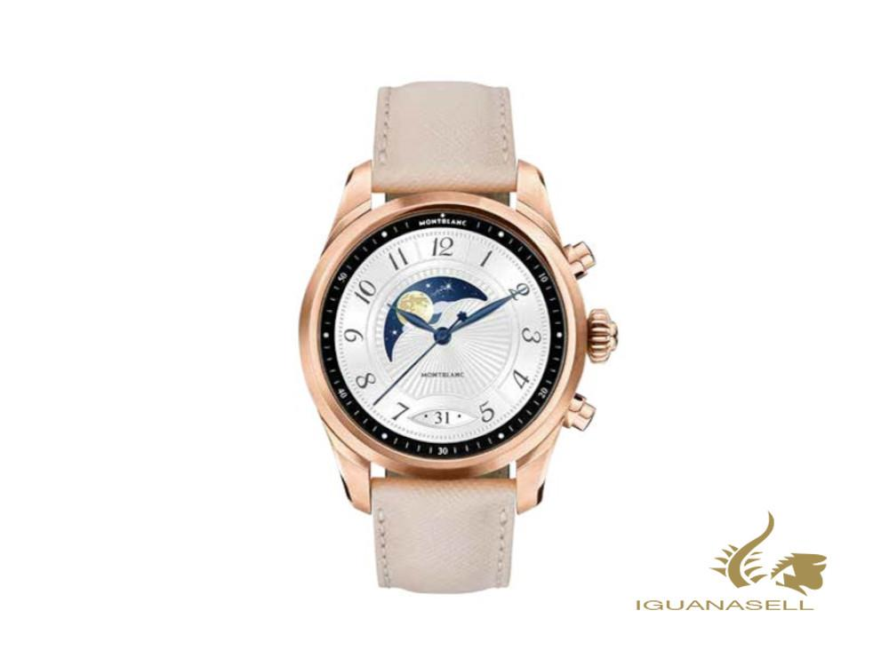 Montblanc Summit 2+ Smartwatch Quartz Watch, PVD Gold, 43,5mm, Beige, 127683