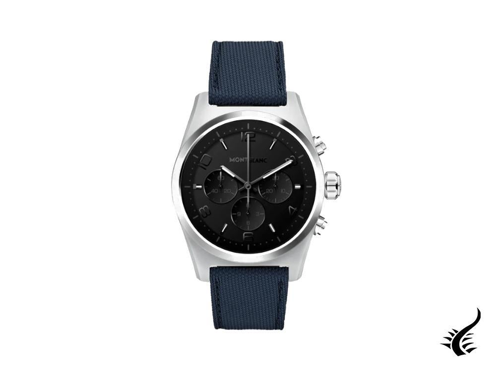 Montblanc Summit Lite Smartwatch Quartz Watch, 43 mm, Blue, Fabric strap, 128411
