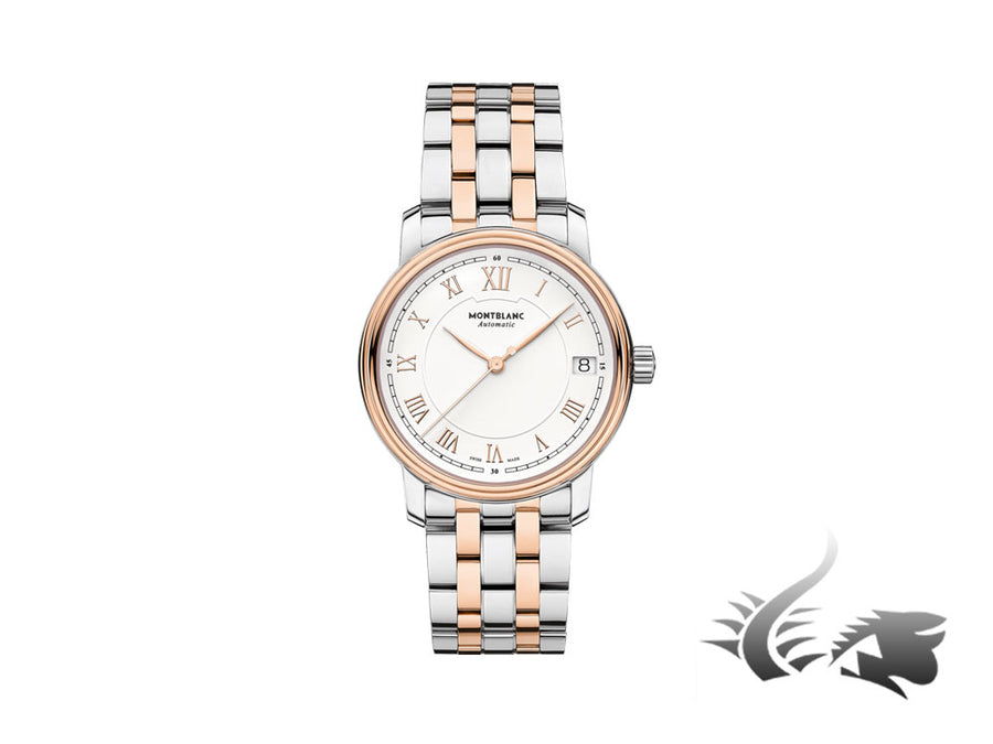 Montblanc Tradition Date Automatic Watch, MB 24.17, 18K Rose gold, Mother pearl Montblanc Automatic Watch