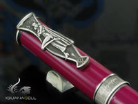 Montegrappa DC-Comics Catwoman Fountain Pen, Purple enamel, ISDCC-LL