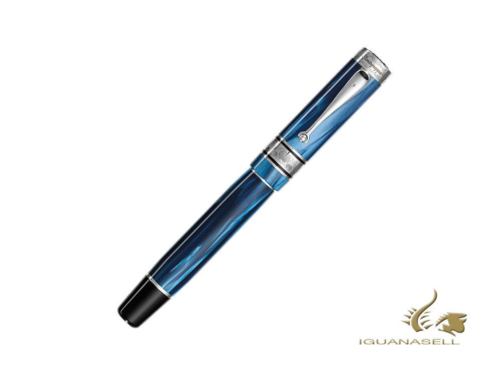 Montegrappa Duchess of York Fountain Pen, Blue, Limited Ed. ISDYN-CD