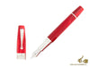 Montegrappa Extra 1930 Red Fountain Pen, .925 Silver Trim, ISEXT-2R Montegrappa Fountain Pen