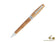 Montegrappa Felicità Caramel Gold Ballpoint Pen, Mother of Pearl Resin