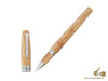 Montegrappa Felicità Caramel Gold Rollerball Pen, Mother of Pearl Resin