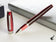 Montegrappa Felicità Red Velvet Rollerball Pen, Mother of Pearl Resin, ISFARRIR