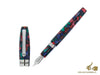 Montegrappa Fortuna Mosaico Aurora Borealis Fountain Pen, Resin Montegrappa Fountain Pen