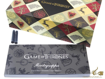 Montegrappa Game of Thrones Westeros Fountain Pen, Resin, ISGOT-WE
