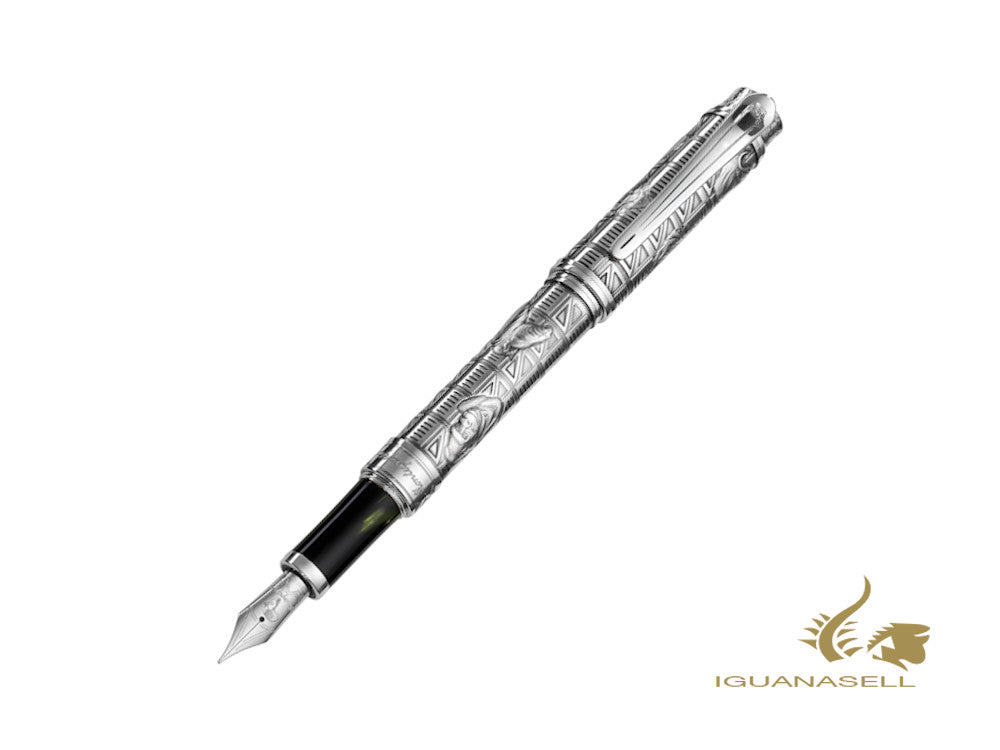 Montegrappa Hemingway The Adventurer Limited Ed. Fountain Pen, ISICH-SA