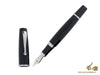 "Montegrappa ""Monte_Grappa"" Fountain Pen, Black, Resin, ISMGR-AC Montegrappa Fountain Pen"