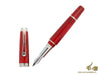 Montegrappa Passione Fountain Pen Cinnamon, Celluloid, .925 silver trim