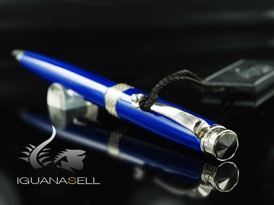Montegrappa Piacere Ballpoint pen, Resin, Cobalt Blue, ISPYRBBD