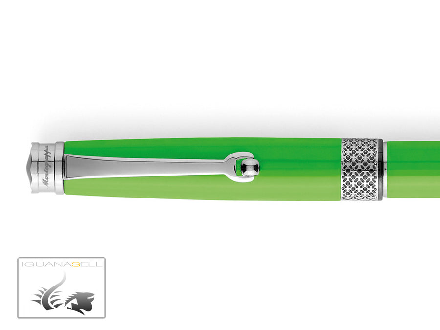Montegrappa Piacere Rollerball pen, Resin, Lime Green, ISPYRRBG