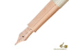 Parker Sonnet Fountain Pen, Silver .925, Rose Gold Trim, 1931485 Parker Fountain Pen