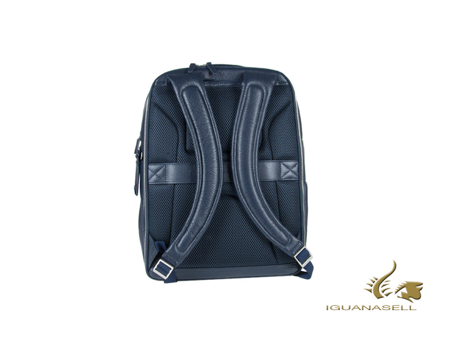 Piquadro Modus Backpack, Leather, Blue, 2, Laptop compartment, CA4174MO/BLU Piquadro Backpack
