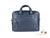 Piquadro Modus Document case, Leather, Blue, Zip, Laptop compartment, CA2849MO