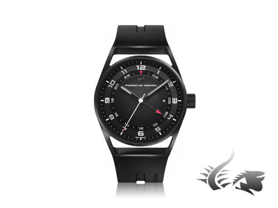 Porsche Design 1919 Globetimer Automatic Watch, GMT, Titanium, Black