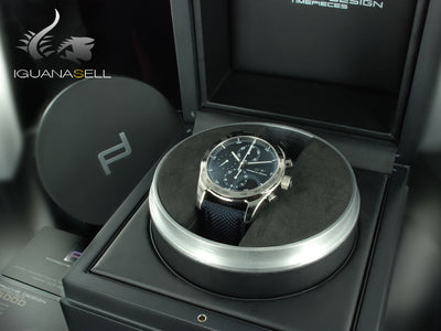 Porsche Design Chronotimer Series 1 Automatic Watch, Polished titanium