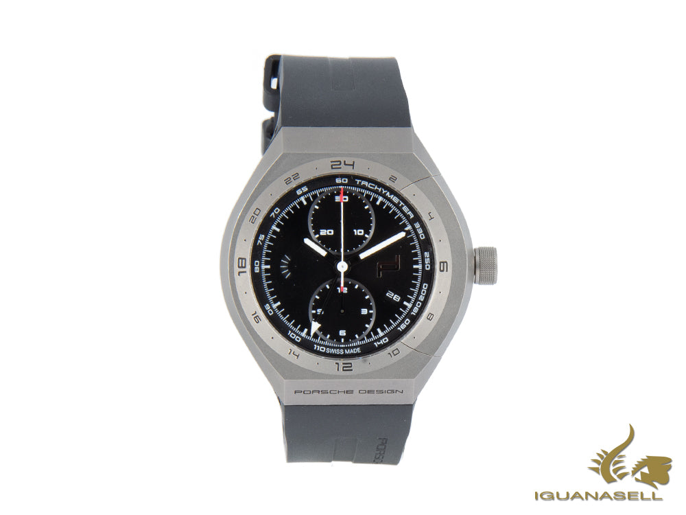 Porsche Design Monobloc Actuator Automatic Watch, ETA Valjoux 7754, GMT