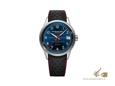 Raymond Weil Freelancer Pilot Automatic Watch, 42,5mm, Blue, Day, 2754-SR-05500