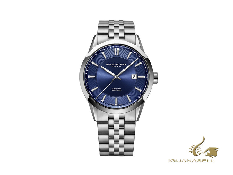 Raymond Weil Freelancer Automatic Watch, 42 mm, Blue, Steel, 2731-ST-50001 Raymond Weil Automatic Watch