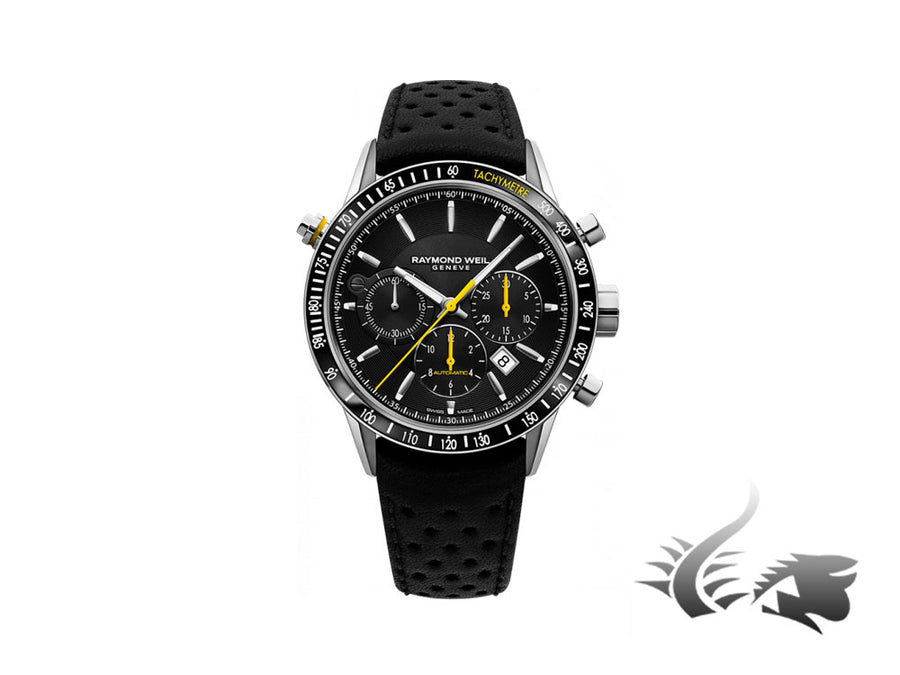 Raymond Weil Freelancer Automatic Chronograph Watch, PVD, Day, 7740-SC1-20021 Raymond Weil Automatic Watch