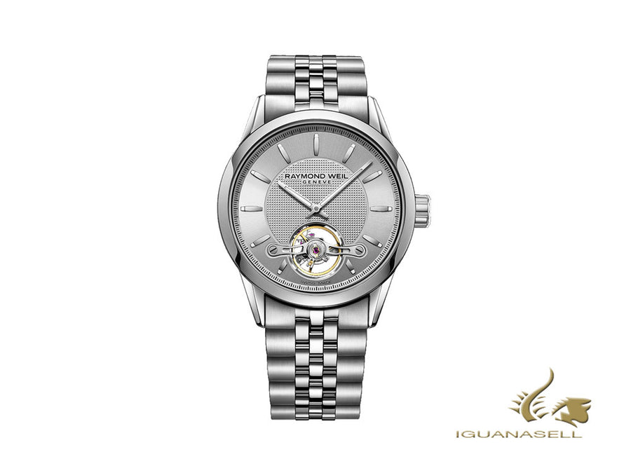 Raymond Weil Freelancer Automatic Watch, RW 1212, 42,5mm, Silver, 2780-ST-65001 Raymond Weil Automatic Watch