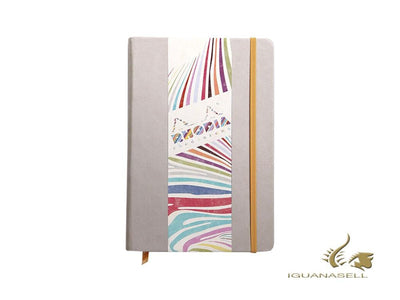 Rhodia Color Notebook, A5, Hard cover, Plain, Beige, 192 pages, 118725C