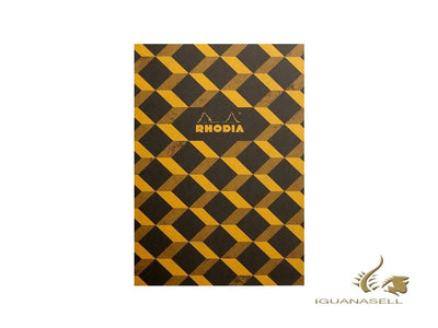Rhodia Heritage Escher Notebook, A5, Soft cover, Ruled, Black, 64 pages, 117242C