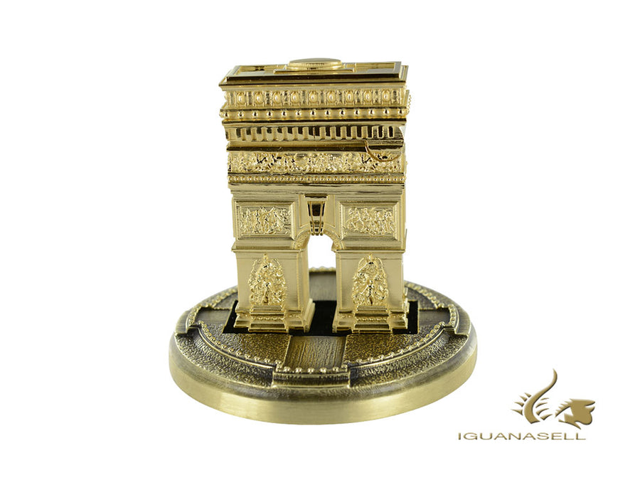 S.T. Dupont Arc de Triomphe Haute Création Limited Edition Lighter, Gold, 016263 S.T. Dupont Lighter