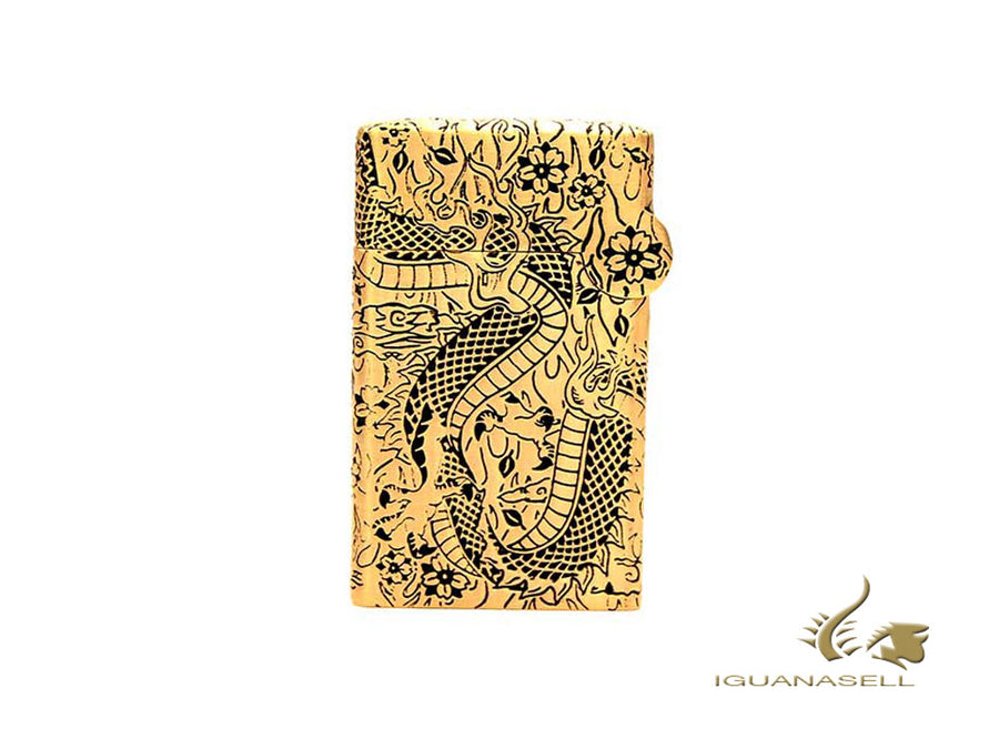 S.T. Dupont Dragon Haute Création Limited Edition Lighter, Gold, 016899 S.T. Dupont Lighter