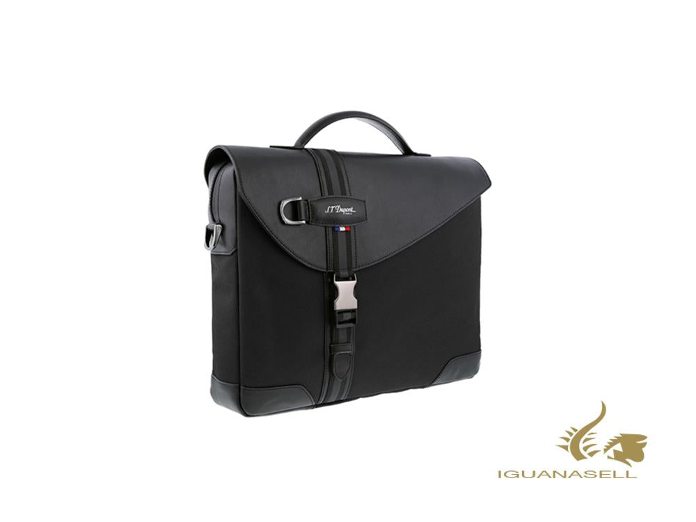 S.T. Dupont Défi Millenium Document case, Leather, Black, Zip, 174000